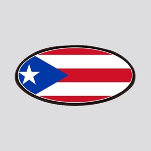 Puerto Rican Flag Patches