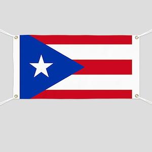 Puerto Rican Flag Banner