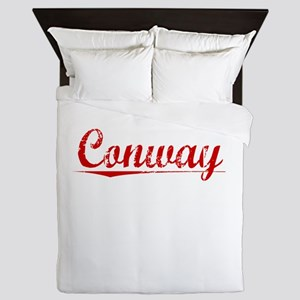 Conway, Vintage Red Queen Duvet