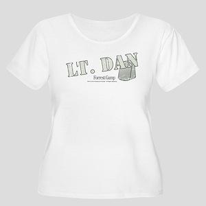 Lt. Dan Women's Plus Size Scoop Neck T-Shirt