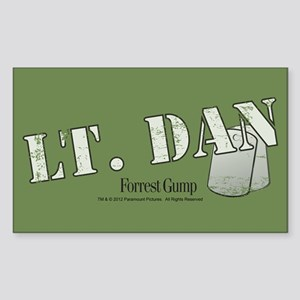 Lt. Dan Sticker (Rectangle)