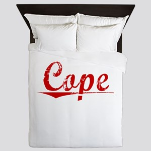 Cope, Vintage Red Queen Duvet