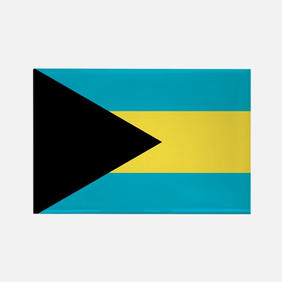 Flag of the Bahamas Rectangle Magnet