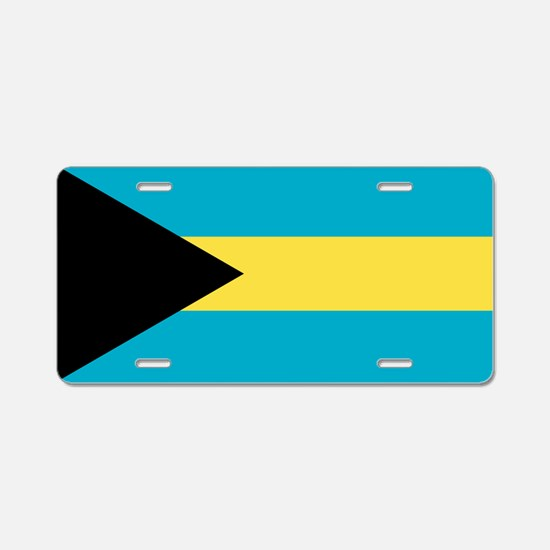 Flag of the Bahamas Aluminum License Plate