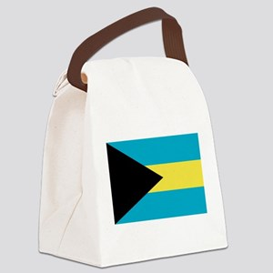 Flag of the Bahamas Canvas Lunch Bag
