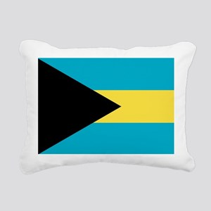 Flag of the Bahamas Rectangular Canvas Pillow