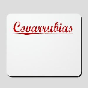 Covarrubias, Vintage Red Mousepad