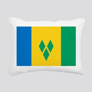 Saint Vincent Grenadines Rectangular Canvas Pillow