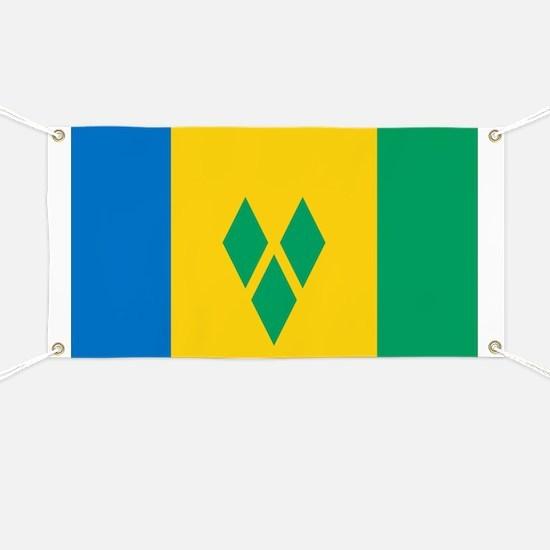 Saint Vincent Grenadines Flag Banner