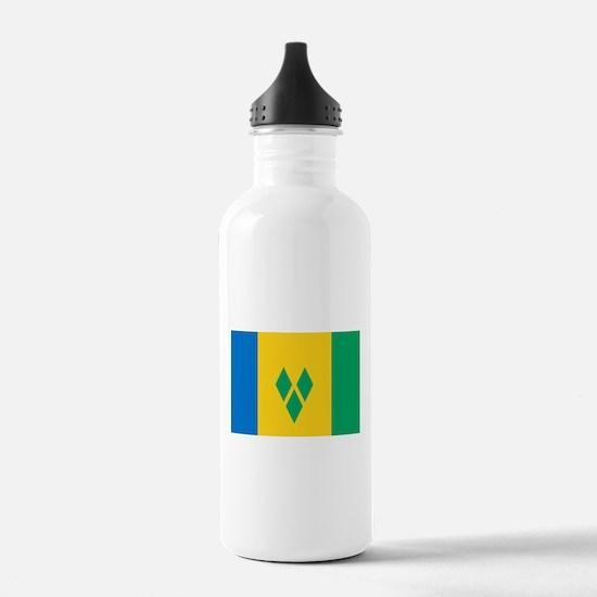 Saint Vincent Grenadin Water Bottle