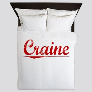 Craine, Vintage Red Queen Duvet