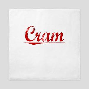 Cram, Vintage Red Queen Duvet