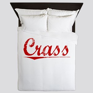 Crass, Vintage Red Queen Duvet