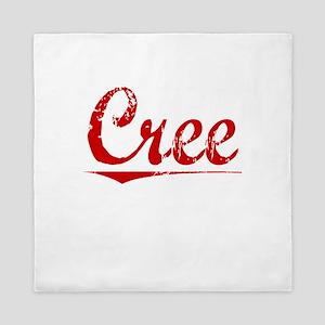Cree, Vintage Red Queen Duvet