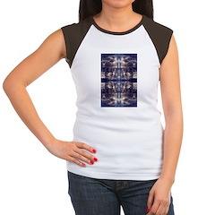 Light Reflection Women's Cap Sleeve T-Shirt