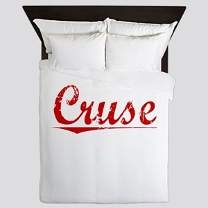 Cruse, Vintage Red Queen Duvet
