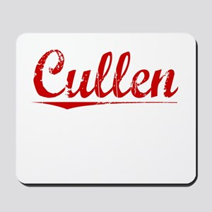 Cullen, Vintage Red Mousepad