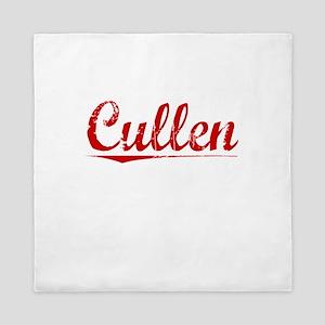 Cullen, Vintage Red Queen Duvet