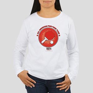 Ping Pong Women's Long Sleeve T-Shirt