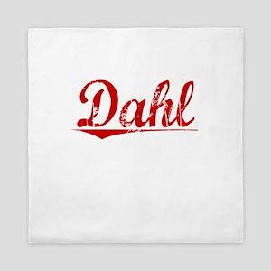 Dahl, Vintage Red Queen Duvet