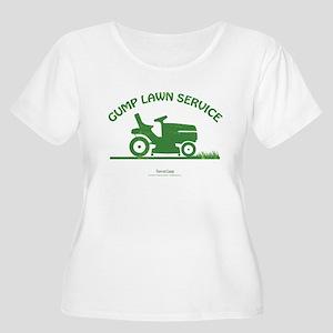 Gump Lawn Service Women's Plus Size Scoop Neck T-S