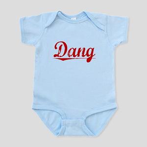 Dang, Vintage Red Infant Bodysuit