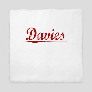 Davies, Vintage Red Queen Duvet