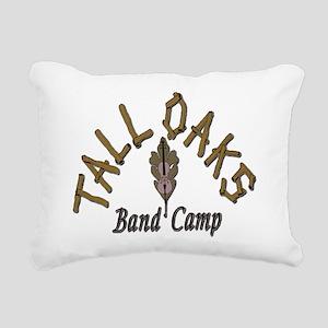 Tall Oaks Band Camp Rectangular Canvas Pillow