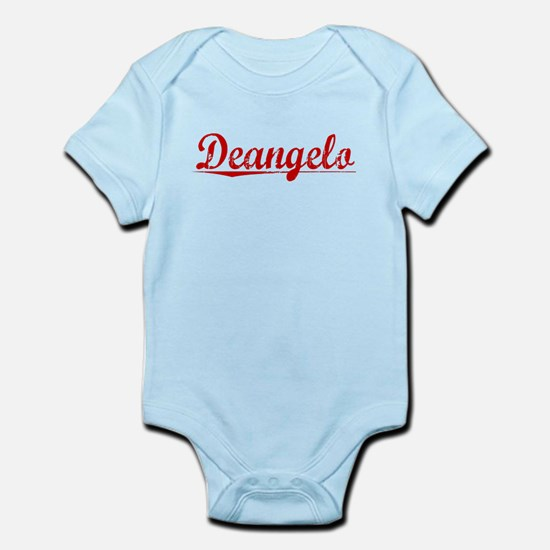 Deangelo, Vintage Red Infant Bodysuit