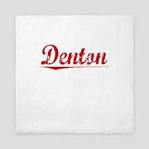 Denton, Vintage Red Queen Duvet