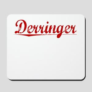 Derringer, Vintage Red Mousepad
