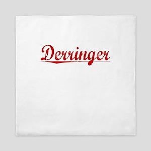Derringer, Vintage Red Queen Duvet