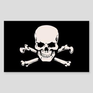 Basic BAMF Skull Sticker (Rectangle)