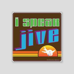 "JIve Square Sticker 3"" x 3"""