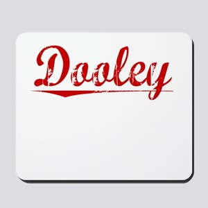 Dooley, Vintage Red Mousepad