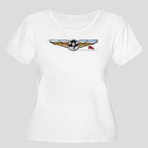 Wings Women's Plus Size Scoop Neck T-Shirt