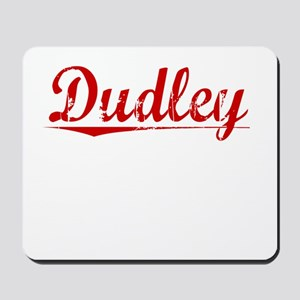 Dudley, Vintage Red Mousepad