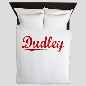 Dudley, Vintage Red Queen Duvet