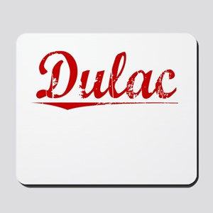 Dulac, Vintage Red Mousepad