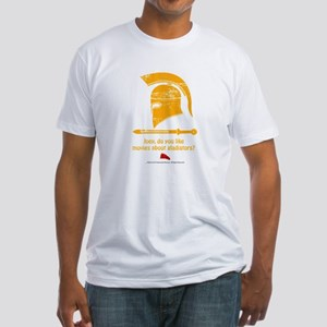 Airplane Gladiator Fitted T-Shirt