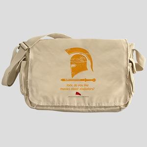 Airplane Gladiator Messenger Bag
