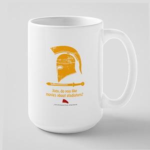 Airplane Gladiator Large Mug