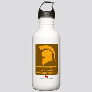 Airplane Gladiator Stainless Water Bottle 1.0L