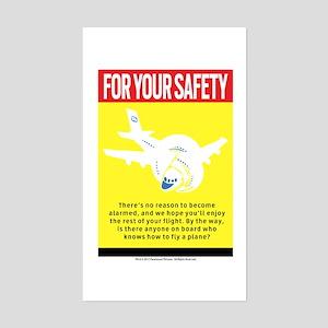 Safety Sticker (Rectangle)