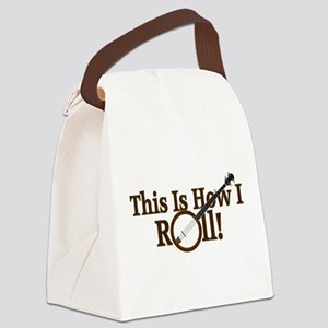 How I (Banjo) Roll! Canvas Lunch Bag