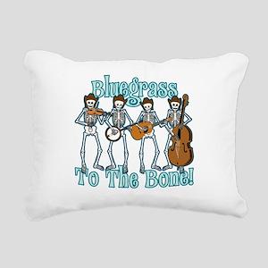 Bluegrass Bones! Rectangular Canvas Pillow