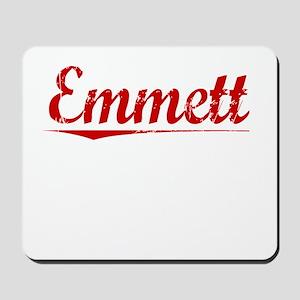 Emmett, Vintage Red Mousepad