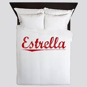 Estrella, Vintage Red Queen Duvet