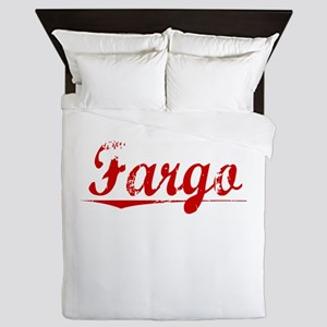 Fargo, Vintage Red Queen Duvet