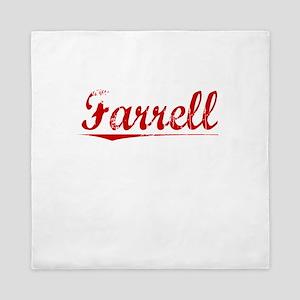 Farrell, Vintage Red Queen Duvet